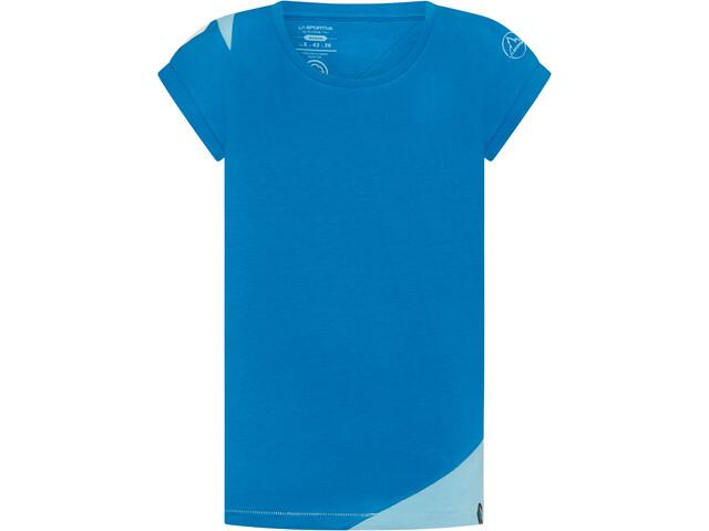 La Sportiva Chimney T-Shirt Femme, neptune/pacific blue